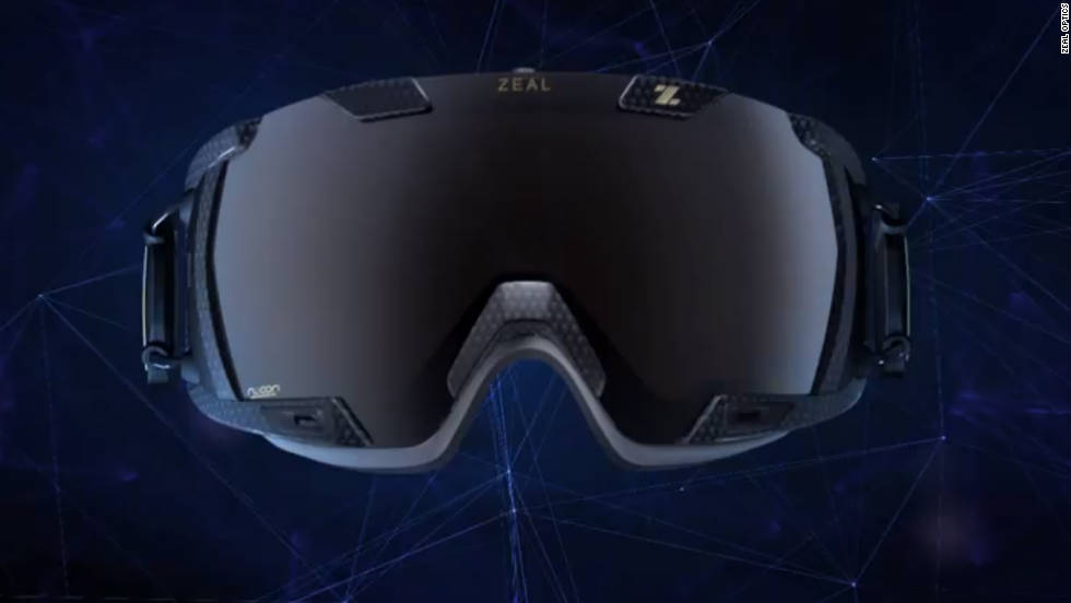 "Outdoor enthusiasts who prefer tackling mountains over heading to the gym will love the <a href=""http://www.zealoptics.com/z3.html"" target=""_blank"">Zeal Z3 goggles</a>. Its polarized, light adjusting, anti-fog lens is fancy enough -- but this integrated smartgoggle also has an altimeter, jump analytics, speedometer, run count, temperature gauge and GPS technology. Cost: $549.00"