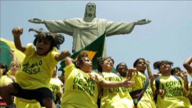 Brazil prepares for World Cup in 2014