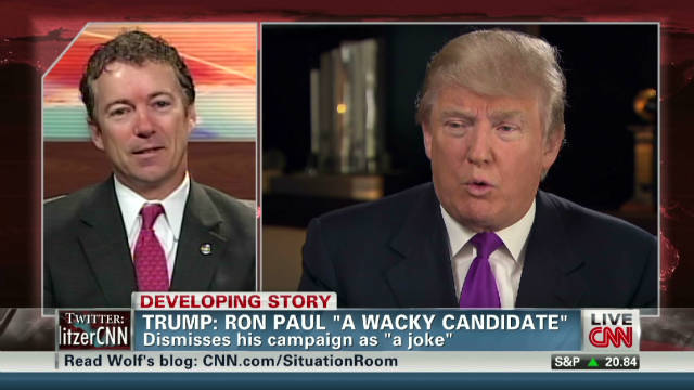 Rand Paul issues challenge to Trump