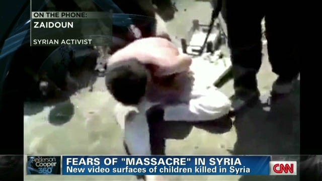 Fears of 'massacre' in Syria