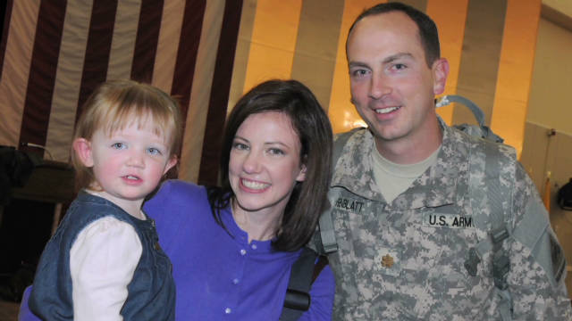 Technology keeps military family's bond
