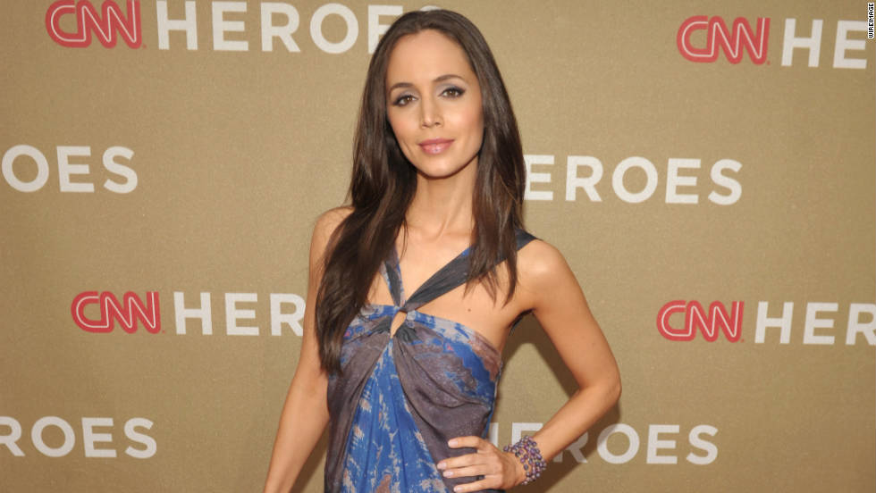 Actress Eliza Dushku.