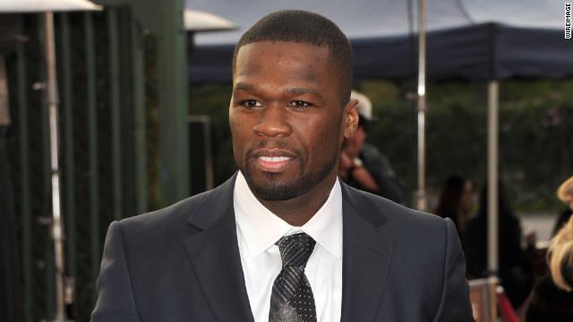 Rapper Curtis '50 Cent' Jackson.
