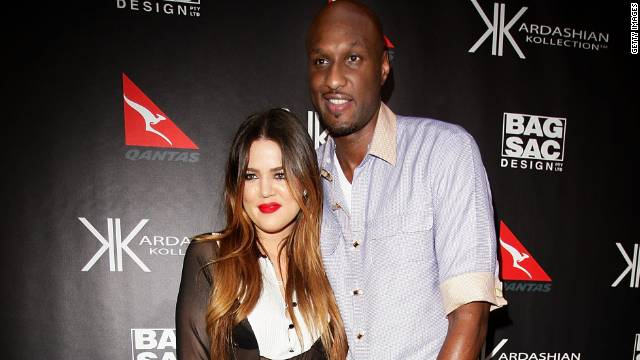Khloé Kardashian's and her husband, Lamar Odom, are stars of their own reality show.