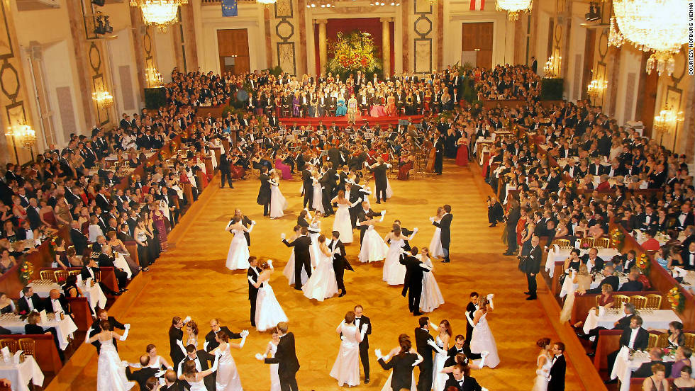 Dance the big night away during an imperial ball in Vienna's Hofburg Palace.