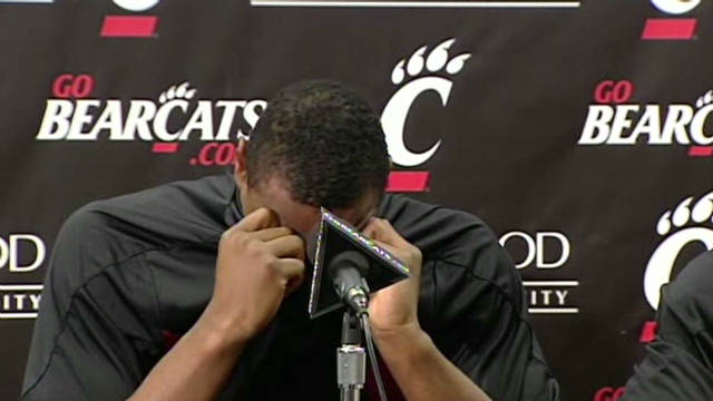 Cincinnati players: We're not violent