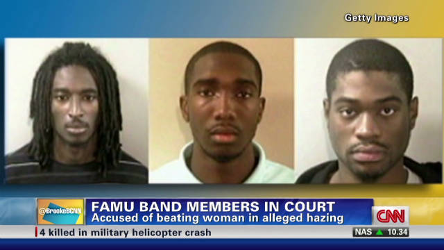 Three FAMU band members in court