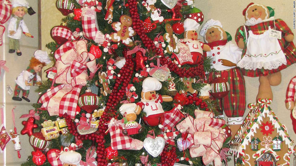Gingerbread is and always will be popular, according to Adler's decorators.