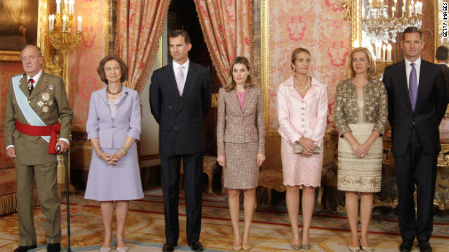 Spain's National Day Royal Reception 2011 In Madrid