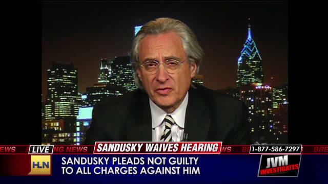 Alleged Sandusky victim's attorney speaks