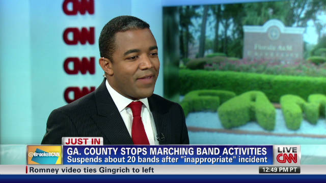 Georgia county suspends marching bands