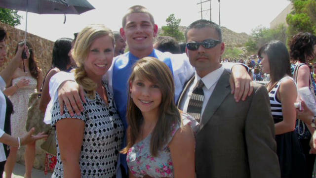 Military father missed 'a lot of firsts'