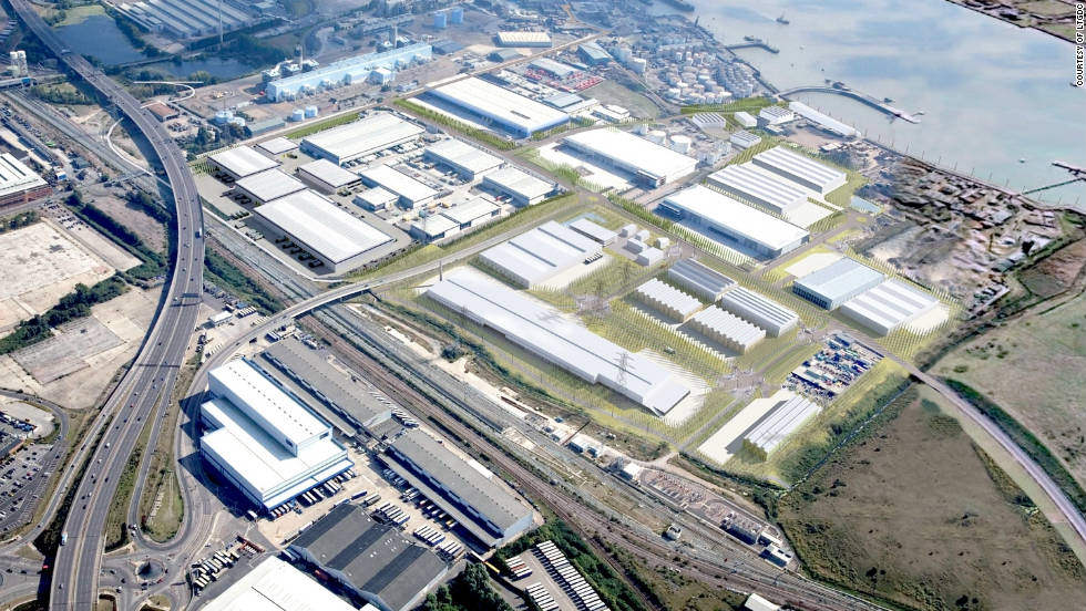 Based on a 25-hectare site in east London, the London Sustainable Industries Park -- as depicted in this CGI image -- hopes to lay the foundations for a cleaner and profitable future for businesses and residents of Dagenham.