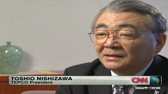 TEPCO president speaks out