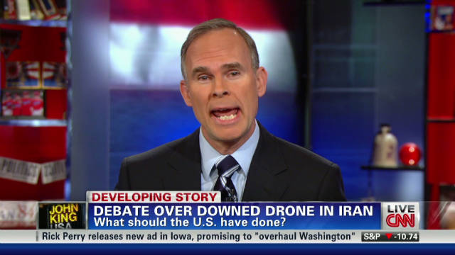 Debate over downed drone in Iran