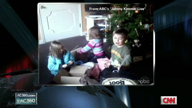 Parents pull Christmas prank on kids