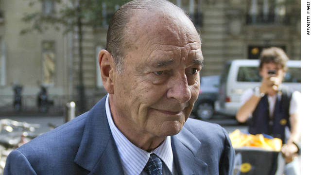 Chirac found guilty on corruption charges