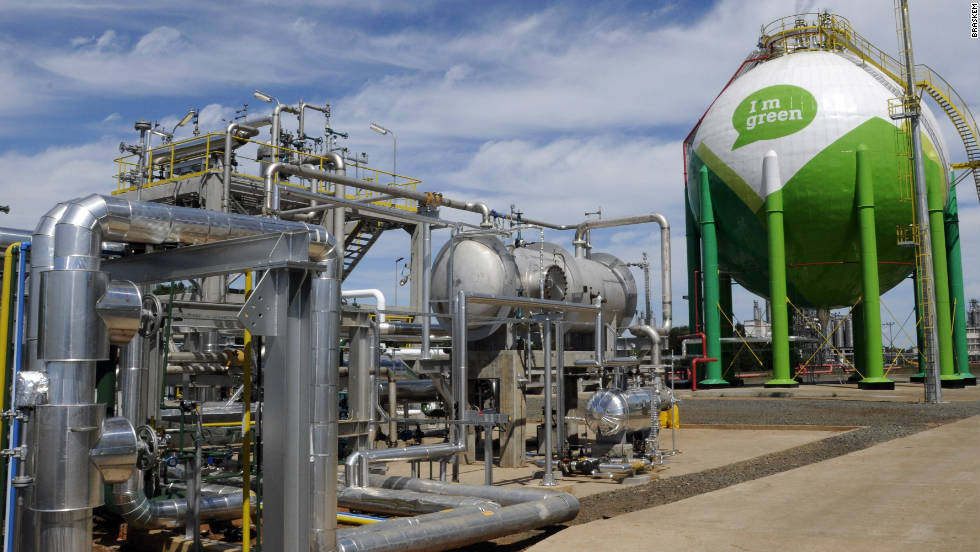 The company's existing green plant in the southernmost state of Rio Grande do Sul is the first of its kind, says corporate marketing director Frank Alcantara.