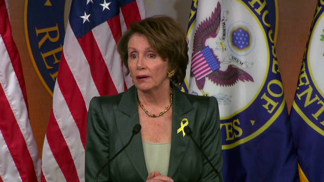 Pelosi: GOP bill 'seeds of destruction'