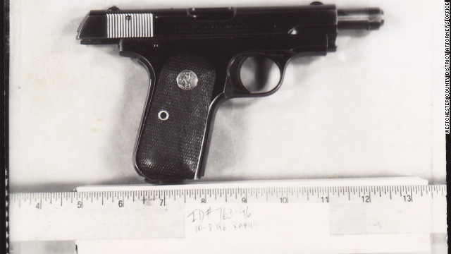The gun DiGugliemo used to kill Charles Campbell in a deli parking lot. DiGugliemo says the killing was self defense.