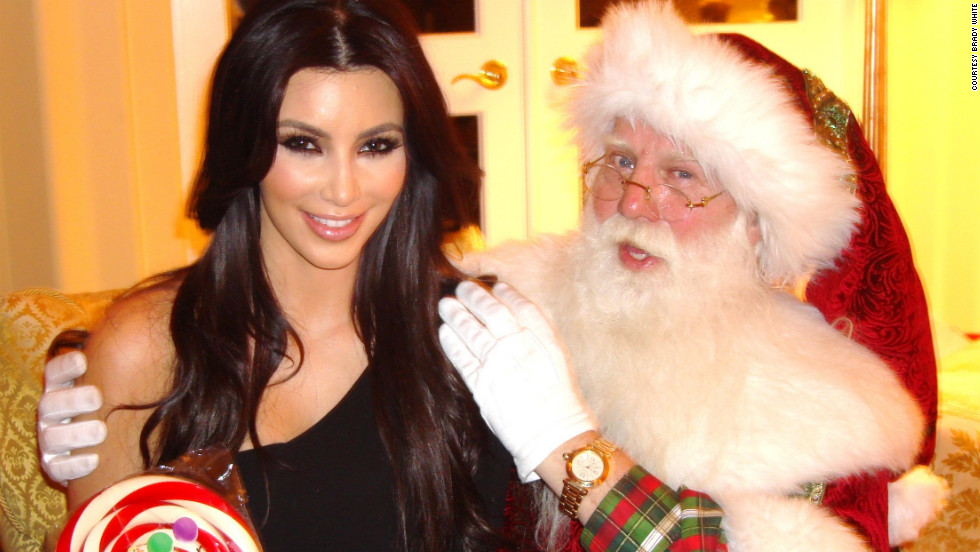 As Santa to the Stars, Brady White has had more big names in his lap than he can count. He became Santa to Kim Kardashian and her sibs long before they built an empire.