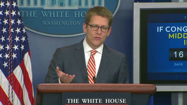 White House happy with payroll tax talks