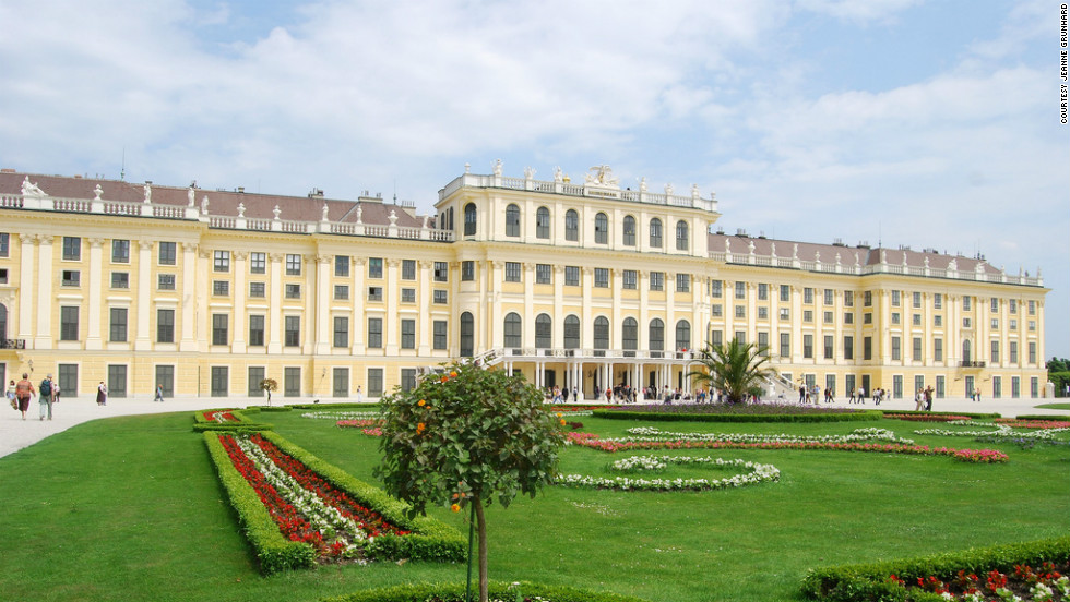 "Jeanne Grunhard took this photo of the Schoenbrunn Palace in Vienna. ""It was a beautiful city with many things to do,"" she said of her 10-day trip."