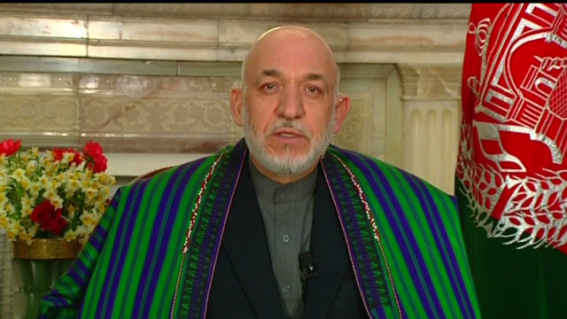 Afghanistant's Karzai on NATO