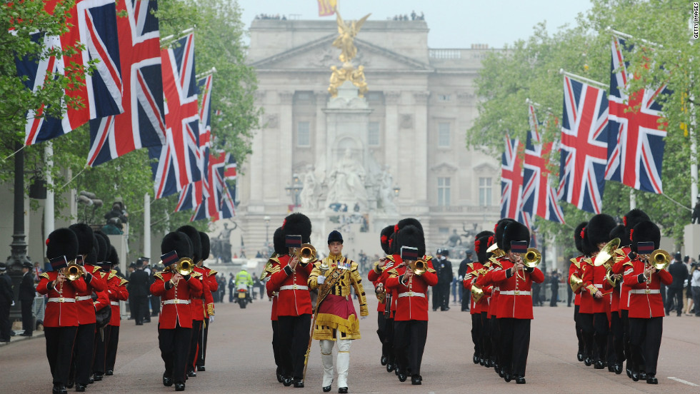 Pageantry will be on full display next year in London as Queen Elizabeth celebrates her Diamond Jubilee -- 60 years on the throne.