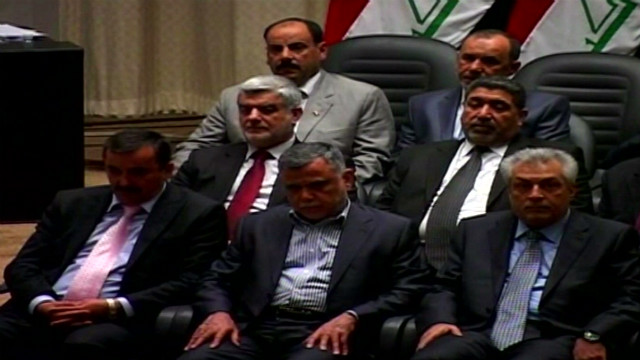 Political turmoil in Iraq
