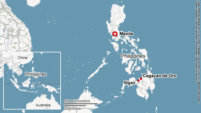 Southern Philippines hard-hit