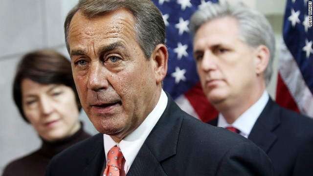Boehner to Senate: Get off your a**