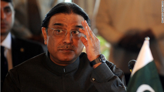 Pakistani President Asif Ali Zardari is expected to return home after receiving medical care in Dubai.