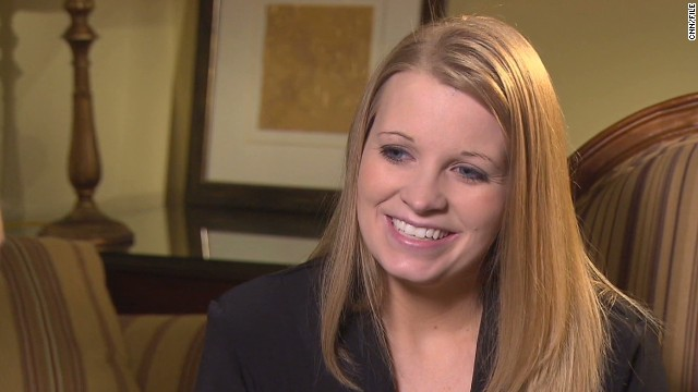 Former prisoner of war Jessica Lynch, seen here in December 2011, left the Army and got a degree in elementary education.