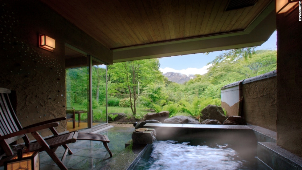 Hot Springs From The Most Luxurious To The Simply
