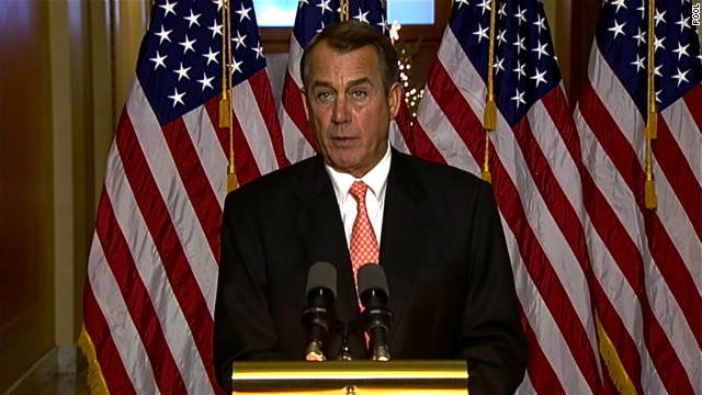 House Speaker John Boehner wants payroll tax cuts extended for a year.