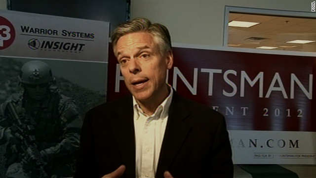 GOP candidate Jon Huntsman feels Kim Jong Un can't be trusted.