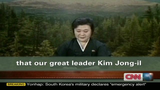 Tearful reaction to Kim's death