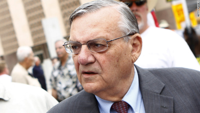 Arpaio: Stats don't support profiling