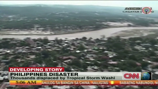 Aid needed for Philippines disaster