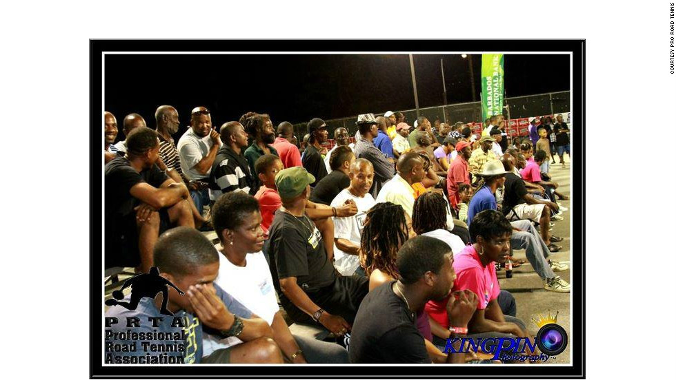 Matches involving top players draw large crowds across various venues in Barbados.