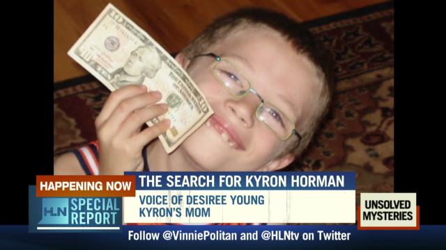 Kyron's mom missing son at Christmas