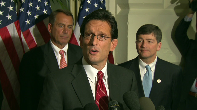 Cantor: No vote on the payroll tax