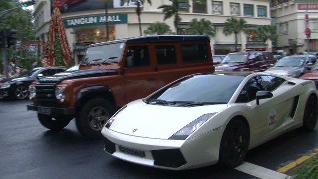 Singapore's many millionaires