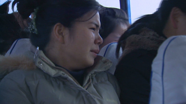 Mourning on the China-North Korea border