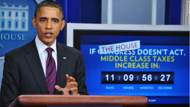 President Barack Obama has criticized House Republicans for refusing to hold a direct vote on the Senate bill.