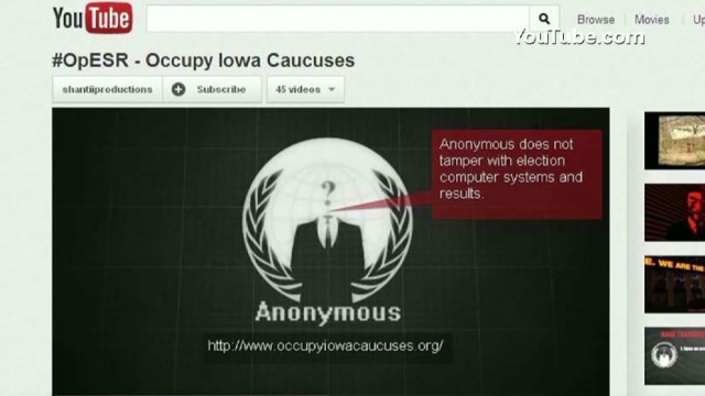 Hackers threaten Iowa caucuses