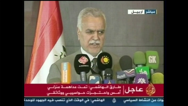 Iraq's VP accused of terrorism