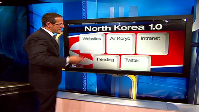 Limited Internet in North Korea