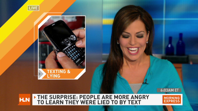 Are you more likely to lie in a text?